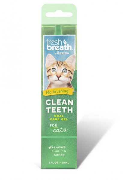 Fresh Breath Clean Teeth Gel 2 Oz (Cat)