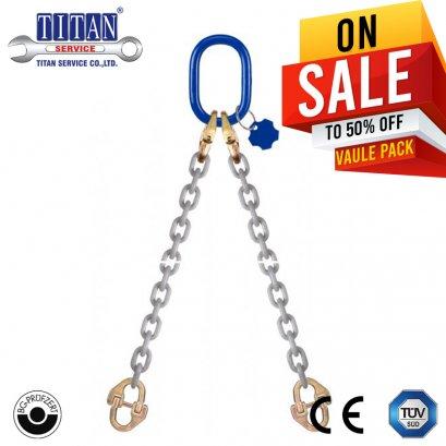 2 - Leg Sling   TWN 1654  8 -XL น้ำหนักยก 3.55 ตัน ,ยาว 1 เมตร