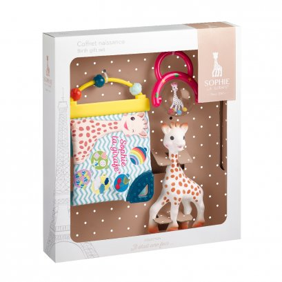 ชุดของขวัญวันเกิด ยีราฟโซฟี ® Birth gift set (คละสี)