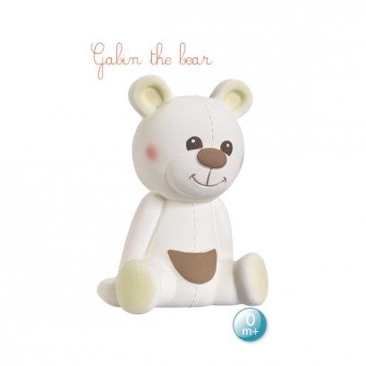 ยางกัดหมีกาแบง (Gabin the bear)