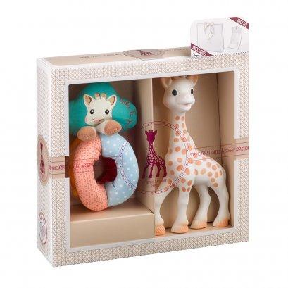 Sophie La Girafe Sophiesticated เซ็ทยางกัดโซฟี พร้อมของเล่น