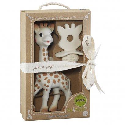 Sophie La Girafe So'Pure ยางกัดยีราฟโซฟี พร้อมยางกัดหน้าโซฟี