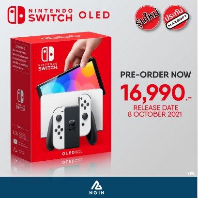 Console : Nintendo Switch Oled Model - White Set