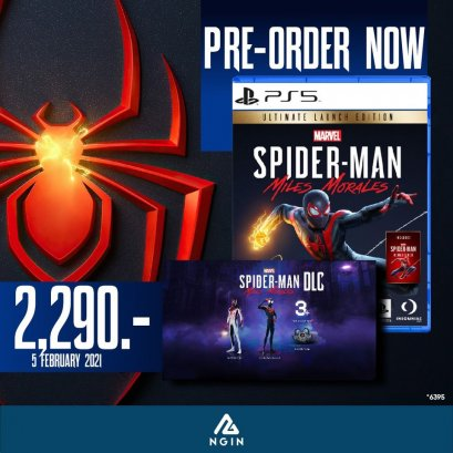 PS5 Marvel's Spider-man Miles Morales Ultimate Launch Edition
