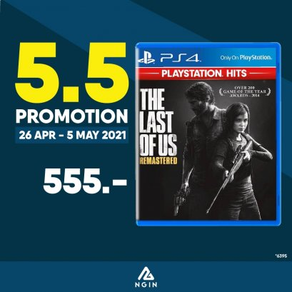 PS4 THE LAST OF US REMASTERED PLAYSTATION HITS