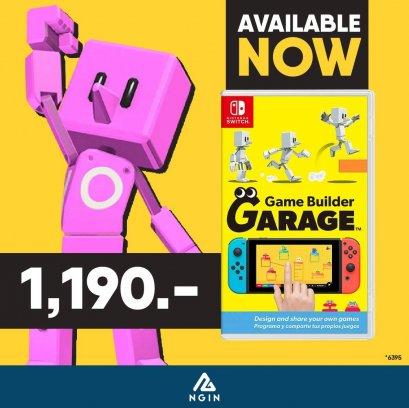 NSW Game Builder Garage