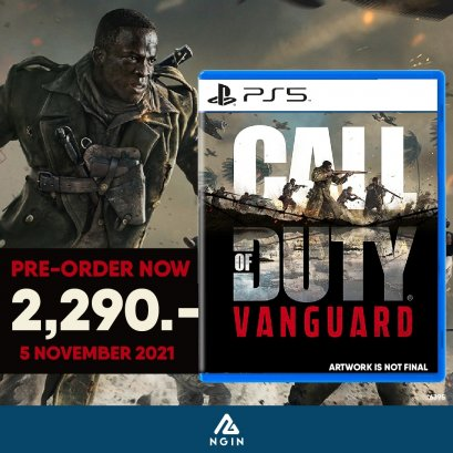 PS5 : CALL OF DUTY: VANGUARD STANDARD Edition