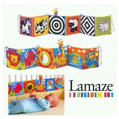 แผ่นพับผ้ากระตุ้นสายตา Lamaze Cotside Gallery