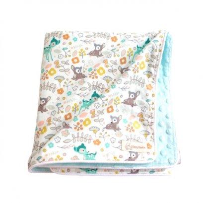 ผ้าห่มเด็ก Miny Dot Aqua / Little Deer