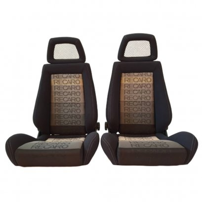 Pair of Used Jdm RECARO LX Net HEADREST SEATS RACING PORSCHE EG EK AUTO CARS