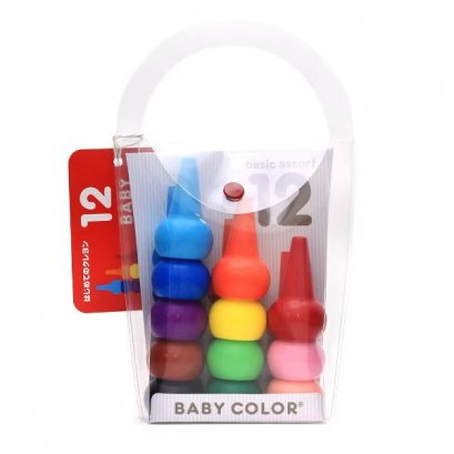 Aozora - Baby Color Basic 12 pcs.