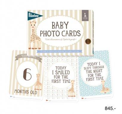 Baby Milestone - Baby Photo Cards