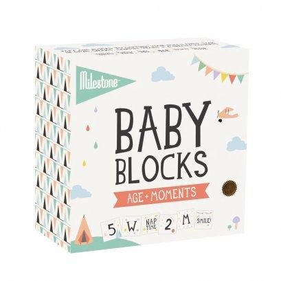 Baby Milestone - Baby Block