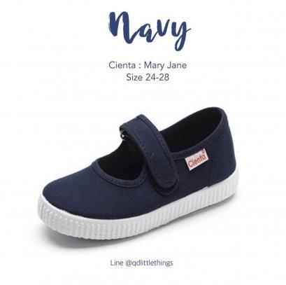 Cienta - Mary Jane ( Navy )