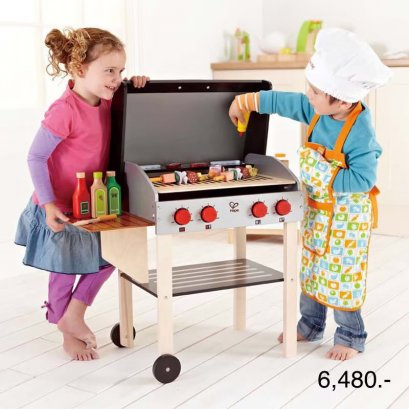 Hape - Gourmet Grill with food