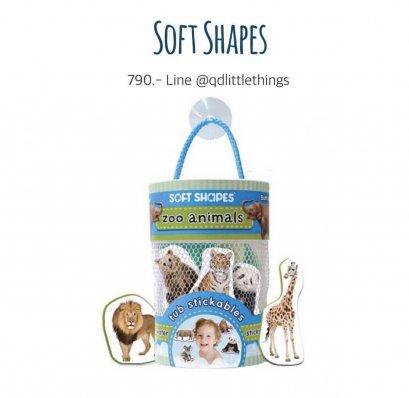 Innovative Kids -Tub Stickables ( Zoo Animals )