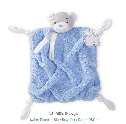 Kaloo - Plume Blue Bear Dou Dou