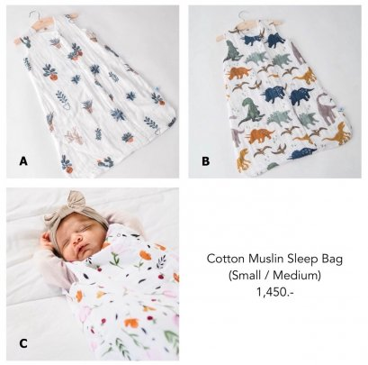 Little Unicorn - Cotton Muslin Sleep Bag