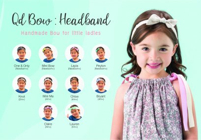 Qd Bow : Headband