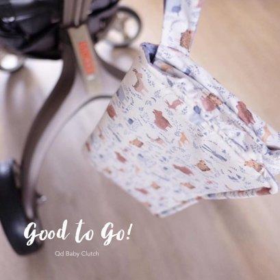 Qd Baby Clutch - Brownies