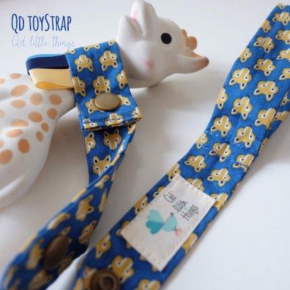 Qd ToyStrap - Blue Fox