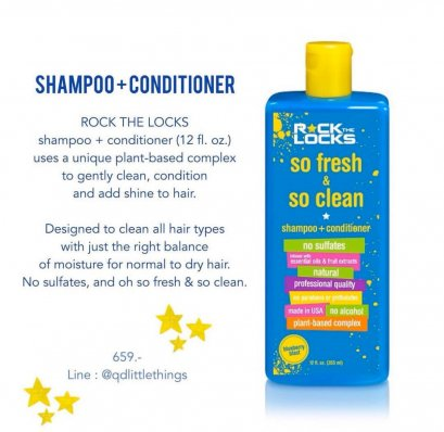 Rock the Locks - Sampoo + Conditioner 355 ml