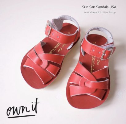 Salt Water - Sandals ( Red )
