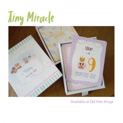Tiny Miracle - Pregnancy & Baby Milestone Cards