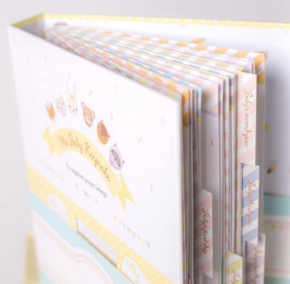 Tiny Miracle - The Baby Keepsake Book ( Diary )