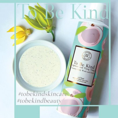 To Be Kind - Apricot and YlangYlang Creamy Body Wash&Scrub ( 200 ml. )