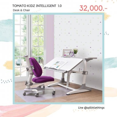 Tomato KidZ - Intelligent 1.0 ( White Desk )