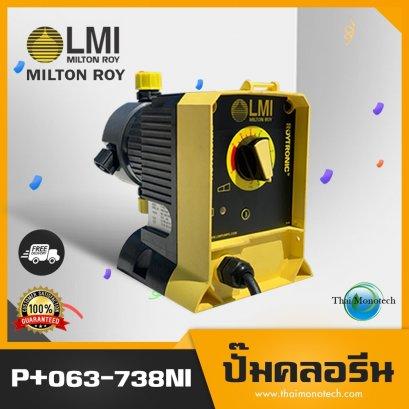 P+063-728NI LMI MILTON ROY ปั๊มคลอรีน Dosing Pump ปั้มเคมี Metering คุณภาพดี ราคาถูก