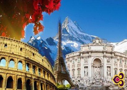 ทัวร์ยุโรป -อิตาลี สวิตเซอร์แลนด์ ฝรั่งเศส
