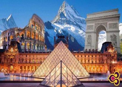 ทัวร์ยุโรป-อิตาลี สวิตเซอร์แลนด์ ฝรั่งเศส