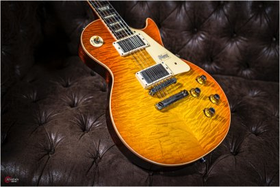 Gibson Custom Shop Re1960 60th Anniversary Ver.2 Quilted Top New
