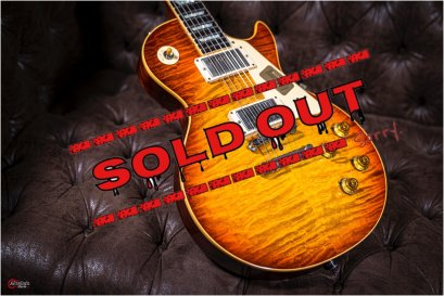 Gibson Custom Shop Re1959 Tom Murphy Burst Quilted Top Hand Select Special Run.