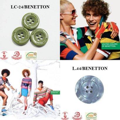 กระดุมเลเซอร์ Benetton