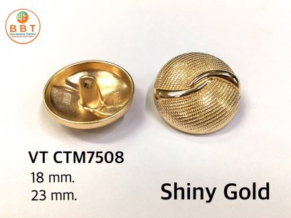 Vintage shiny gold buttons