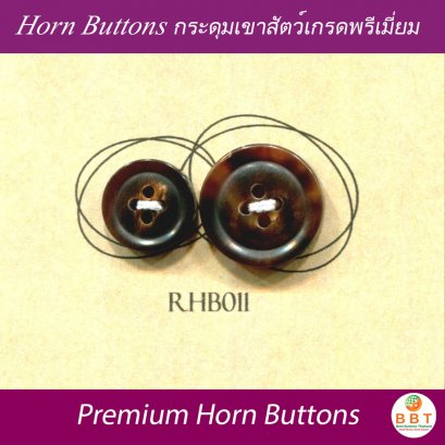 Real Horn Buttons