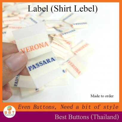 Shirt Label