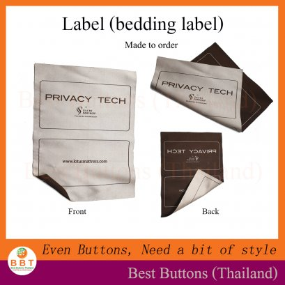 Bedding Label