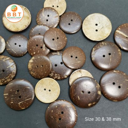 Coconut Buttons Size 30mm
