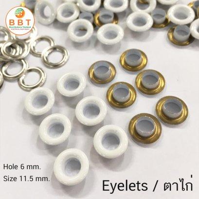 White Eyelets