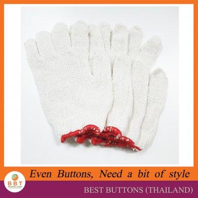 ถุงมือผ้าฝ้าย สำหรับงานฝีมือ