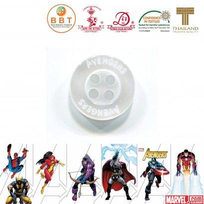 กระดุมโลโก้ Avengers (MARVELS)