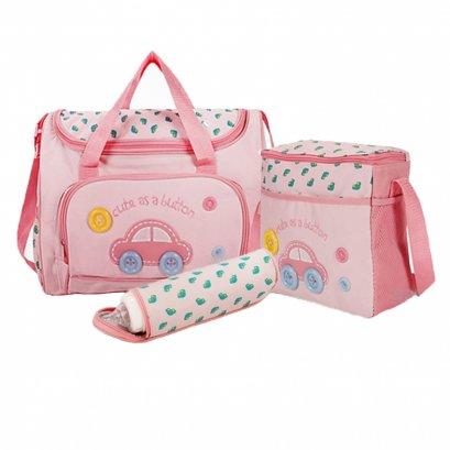 Mothercare กระเป๋าสัมภาระคุณแม่ เชต 3 ใบ สีชมพู