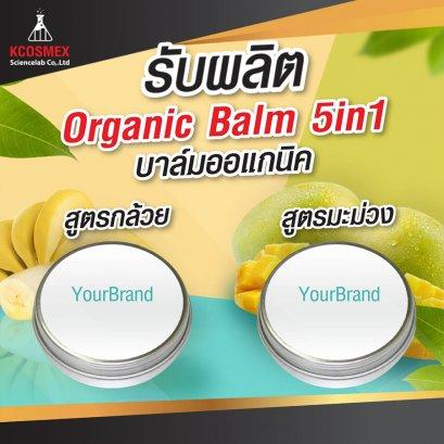 Organic Balm 5in1