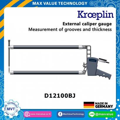 D12100BJ   - เขาควายวัดนอก แบบไดอัล/แบบสเกล0-100 mm