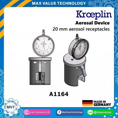 A1164/AE1164 - Aerosol devices - 20 mm aerosol receptacles