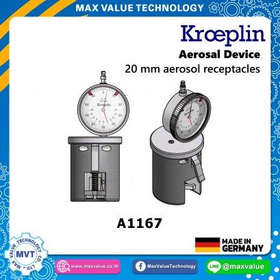 A1167/AE1167 - Aerosol devices - 20 mm aerosol receptacles